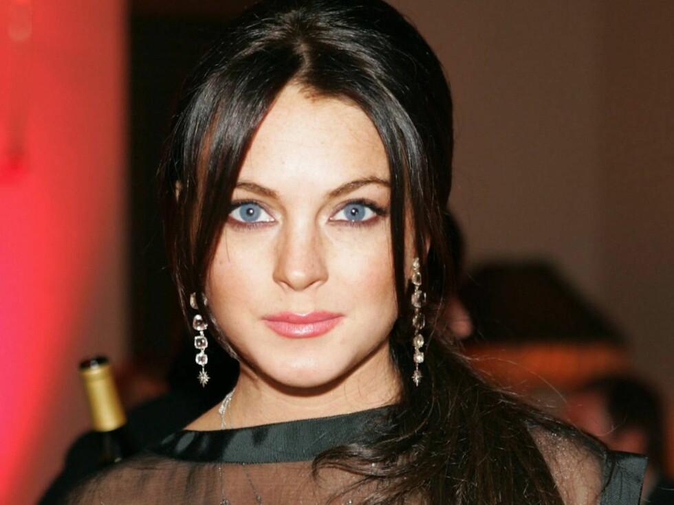 REDD FOR BLINDTARMEN: Lindsay fryste ned blindtarmen sin! Foto: All Over Press