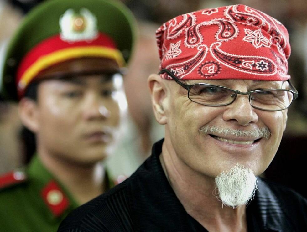 KLAR: - Får han amnesti, vil han bli løslatt veldig snart, forteller Gary Glitters advokat. Glitter sitter for tiden fengslet i Vietnam for misbruk av småjenter. Foto: AP/Scanpix