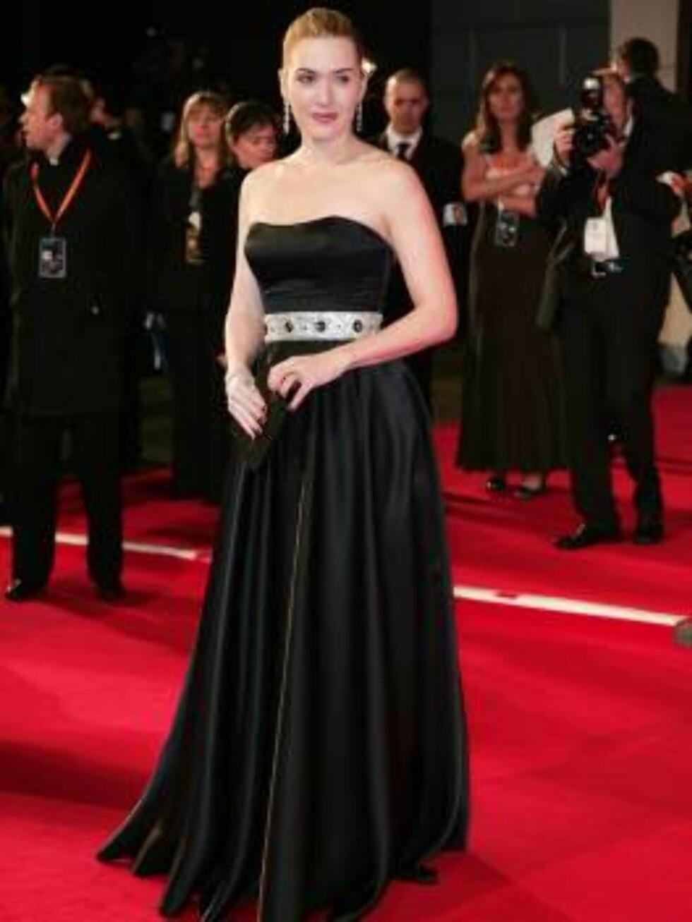 INGEN SYLFIDE: Kate Winslet er kjent for sine vakre former. Selv var hun overbevist om at kroppen ville stanse henne i Hollywood. Foto: Stella Pictures