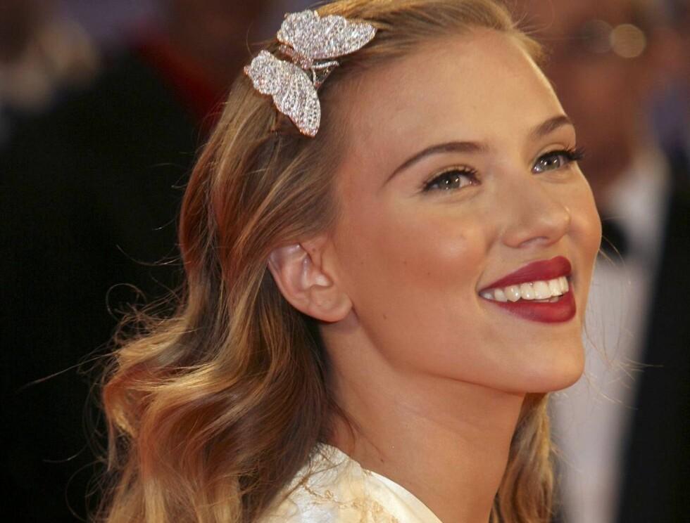 PEN OG POPULÆR: Det er ikke vanskelig å se hvorfor Scarlett er en av de mest ettertraktede kvinnene på singelbørsen. Foto: All Over Press