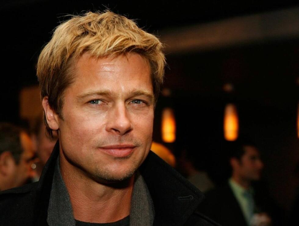 FLOTT: Brad startet karrieren i Hollywood for 20 år siden i ymse TV-serier. Nå er han en av filmbyens best betalte. - takket være strippere! Foto: All Over Press