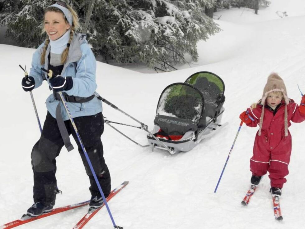 NORSK FJELLHEIM: Trude Mostue vil helst på skiferie til Nordseter like ved Lillehammer. Foto: Se og Hør