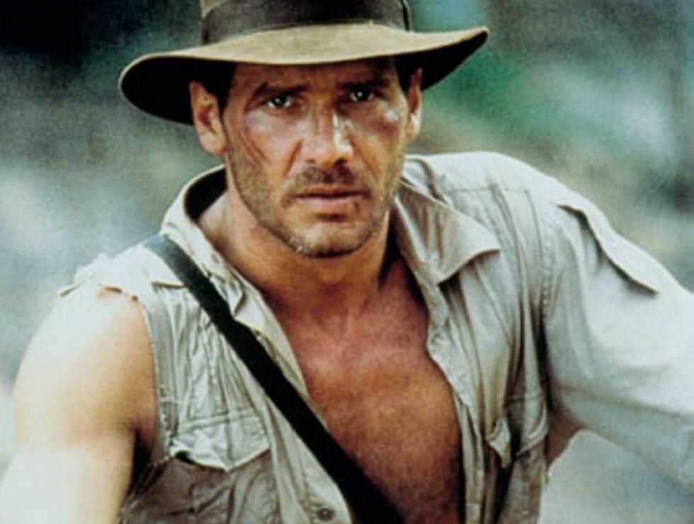 TØFFEST: Harrison For som Indiana Jones var en hit blant både kvinner og menn.