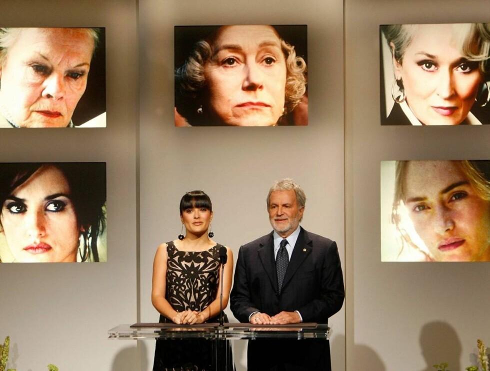 VINNER?: Dette er den femte gangen Kate blir nominert til en Oscar. I år konkurrerer hun mot Penelope Cruz, Judi Dench, Helen Mirren og Meryl Streep. Foto: All Over Press