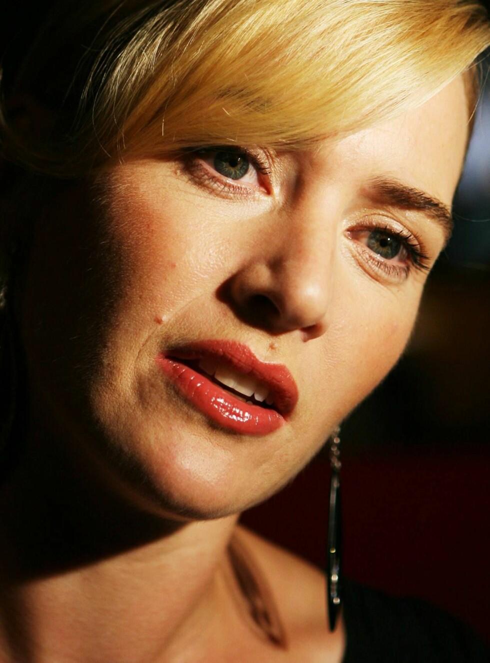 SINT: Kate Winslet frykter at slankeoppslaget kan gi tilhengerne hennes et negativt inntrykk. Foto: AP/Scanpix