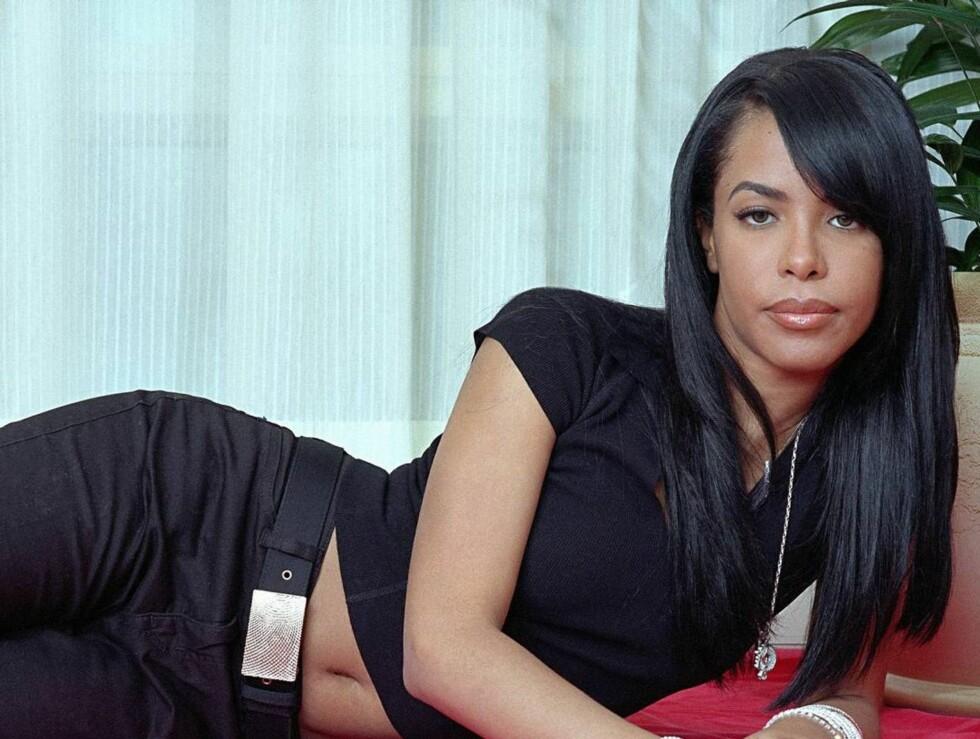 DØDE I FLYSTYRT: Aaliyah ble spådd en lysende fremtid som R&B-stjerne. Dessverre døde hun bare 22 år gammel. Foto: AP