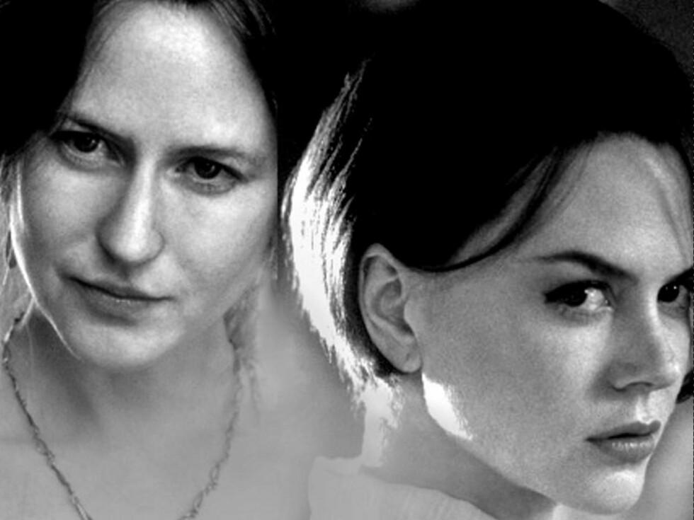 FORANDRING: Begge er Nicole Kidman i to forskjellige roller. Sykt, ikke sant? Foto: Montasje