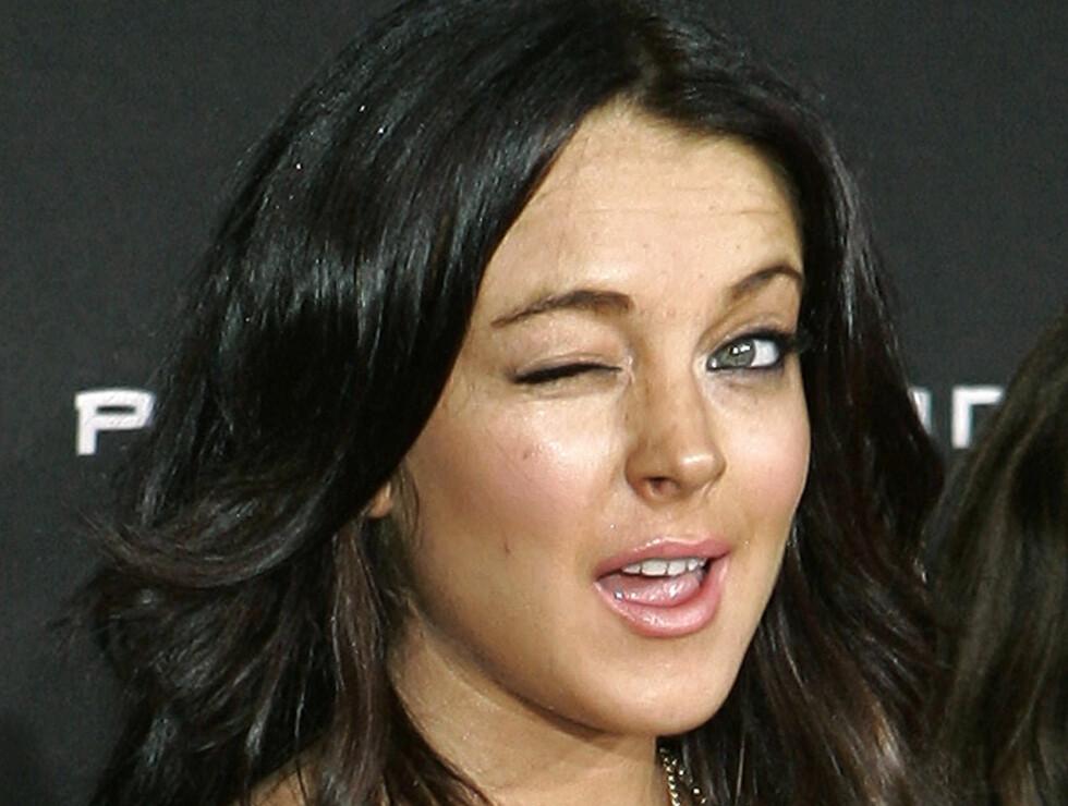 LØGN? Noen tror at Lindsays rehabilitering bare er et PR-stunt.  Foto: AP