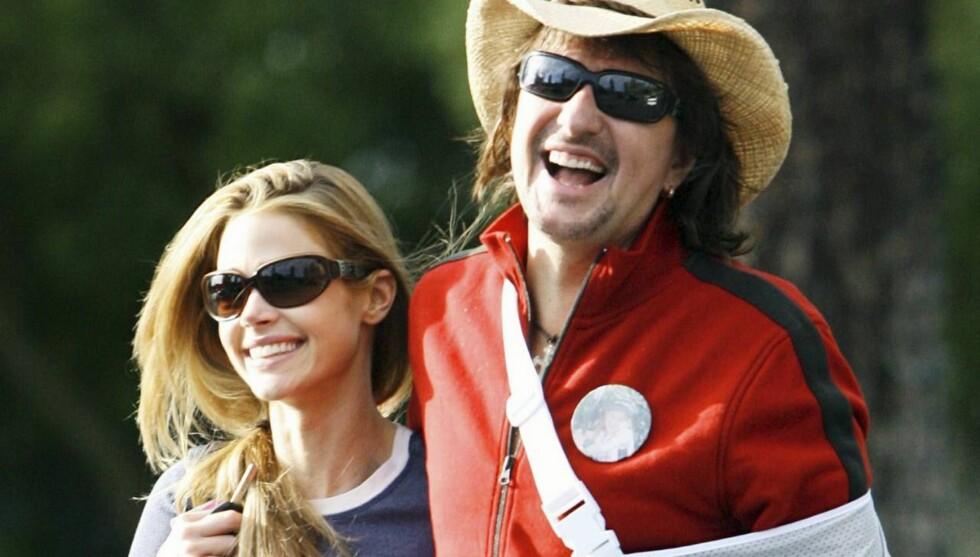 BLIR EKTEPAR: Denise og Richie stråler sammen, og gifter seg i Italia. Foto: All Over Press