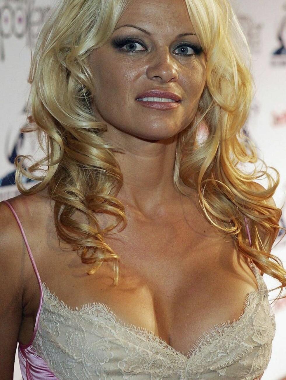 VELDEDIG: Pamela vil bruke brystene til å skape oppmerksomhet rundt sine hjertesaker. Foto: All Over Press