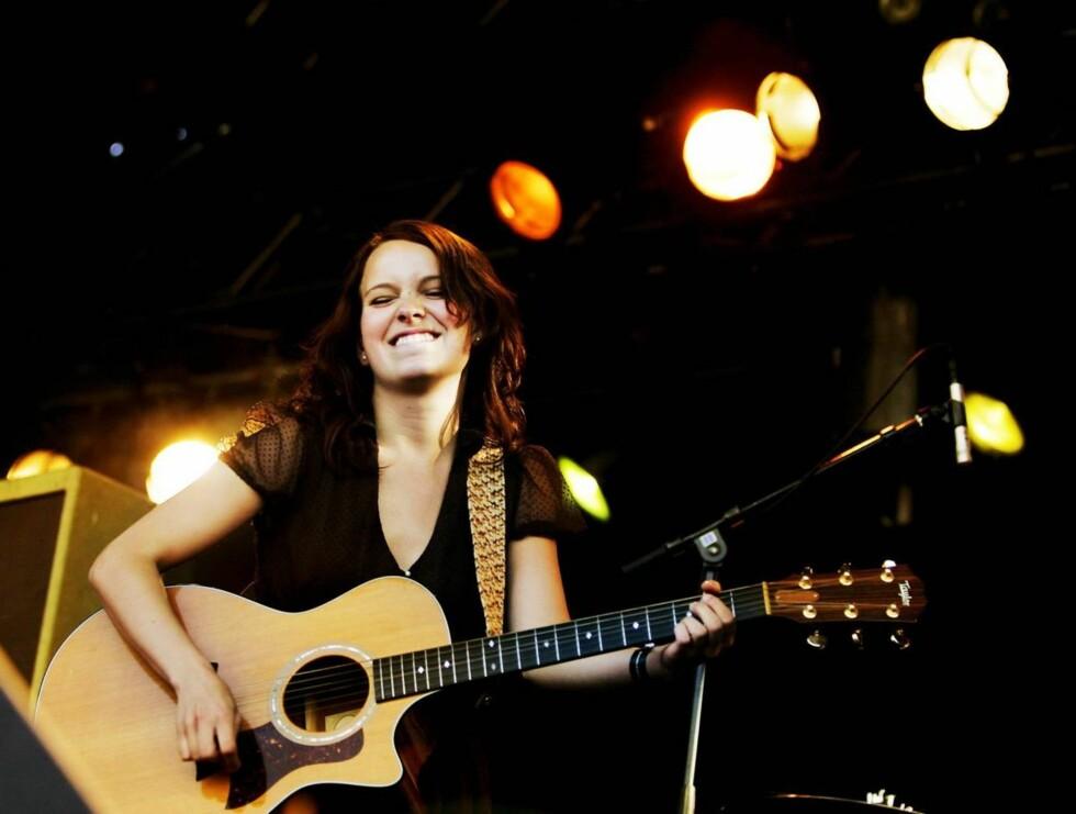 FLINK: Marit hadde tre gigantiske hits i året som gikk. Men vinner hun en Spellemannspris? Foto: SCANPIX