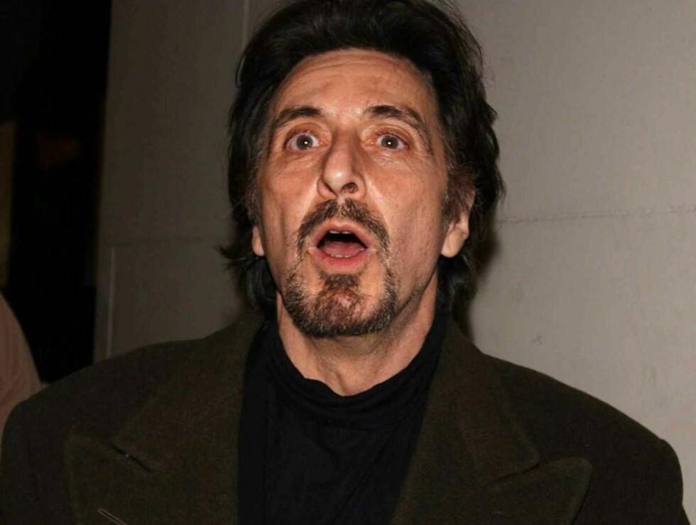 AL DALI: Hvem andre enn Al Pacino ble valgt da filmen om Salvador Dali skulle spilles inn? Foto: All Over Press