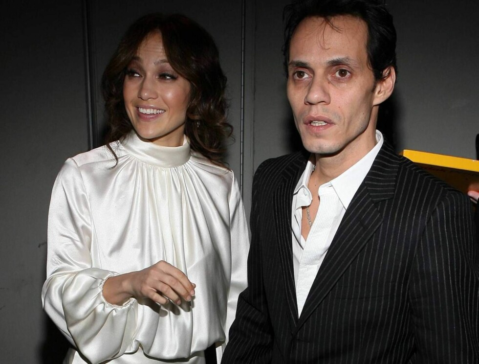 IKKE PÅ KLUBB: Jennifer Lopez og Marc Anthony orker ikke lenger å gå på nattklubb. Foto: All Over Press