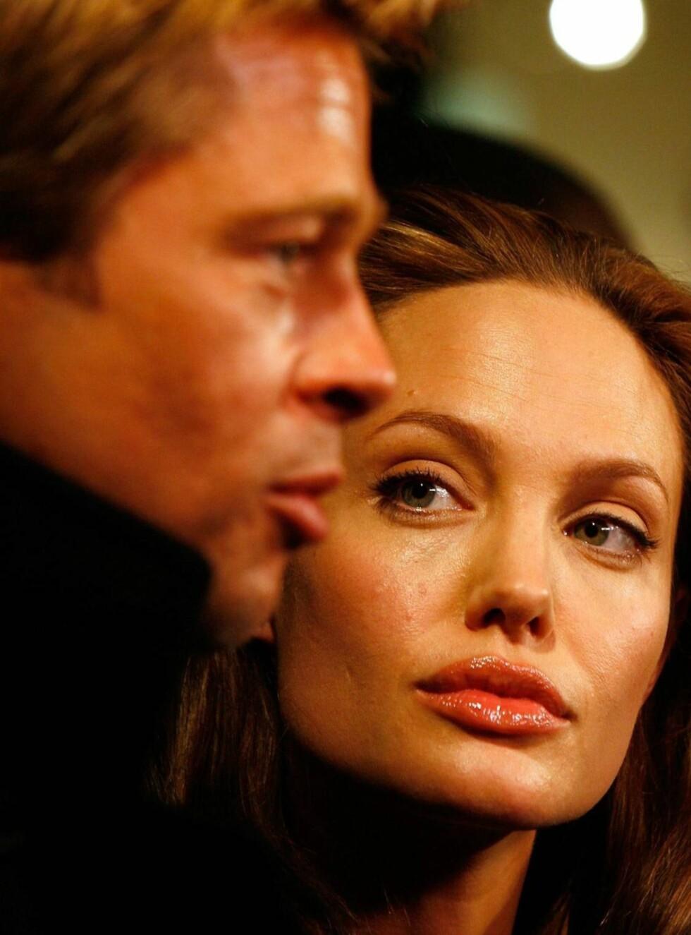 PENT PAR: Brad Pitt og Angelina Jolie Foto: All Over Press