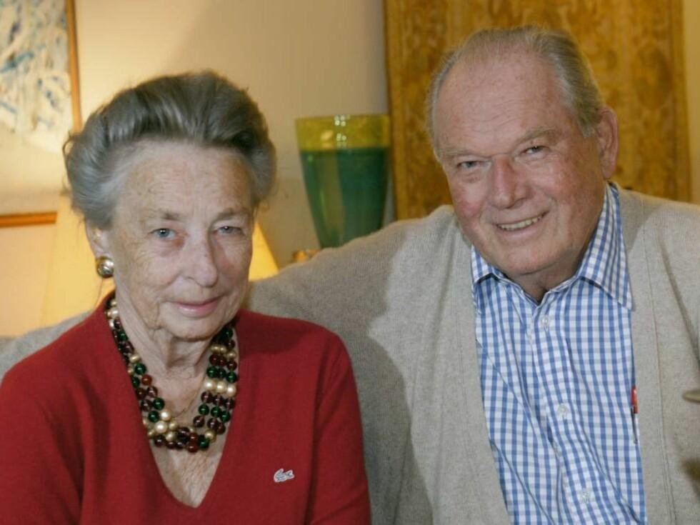 I STRID: Erling Lorentzen har uttalt at vil gi Heloise penger, dersom hun skulle trenge det... Foto: Se og Hør Arkiv