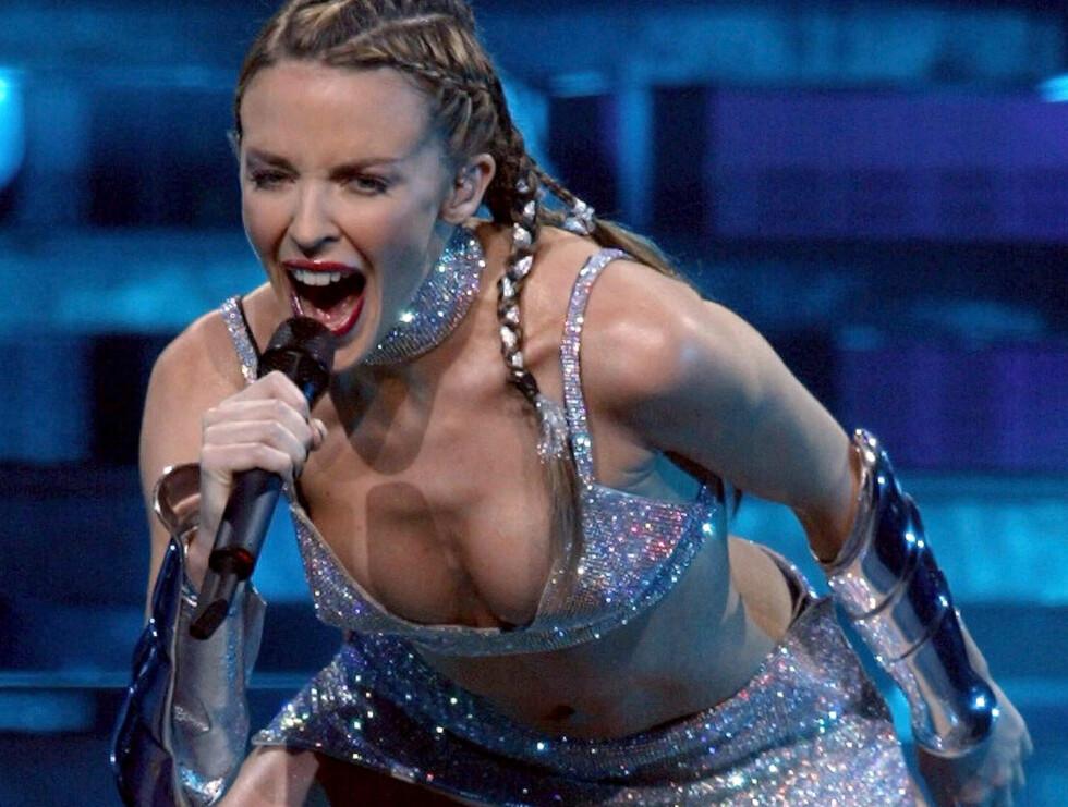 MÅTTE AVBRYTE: Kylie Minogue klarte ikke å fullføre konserten i Manchester. Foto: AP
