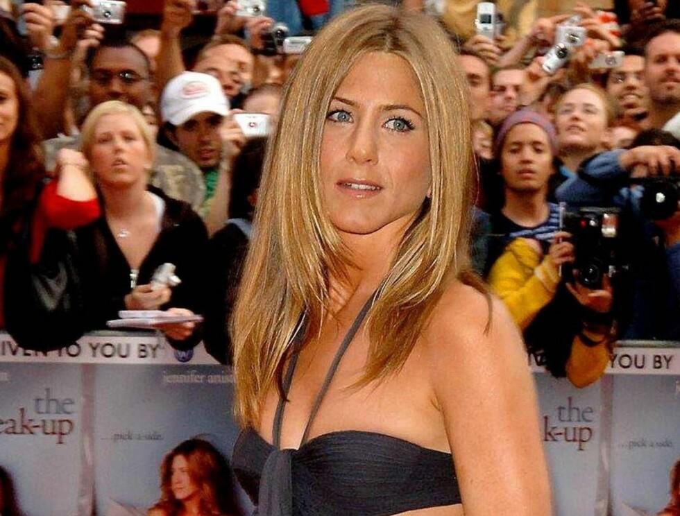 TOPP KROPP: Når Jennifer Aniston til topps på listen? Foto: Scanpix