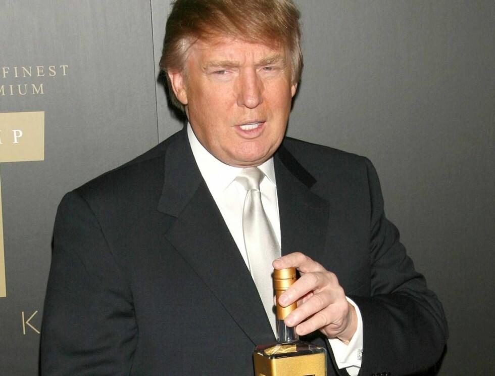 TRUMP-VODKA: Vil den nye vodkaen til Donald Trump smake godt? Foto: Stella Pictures