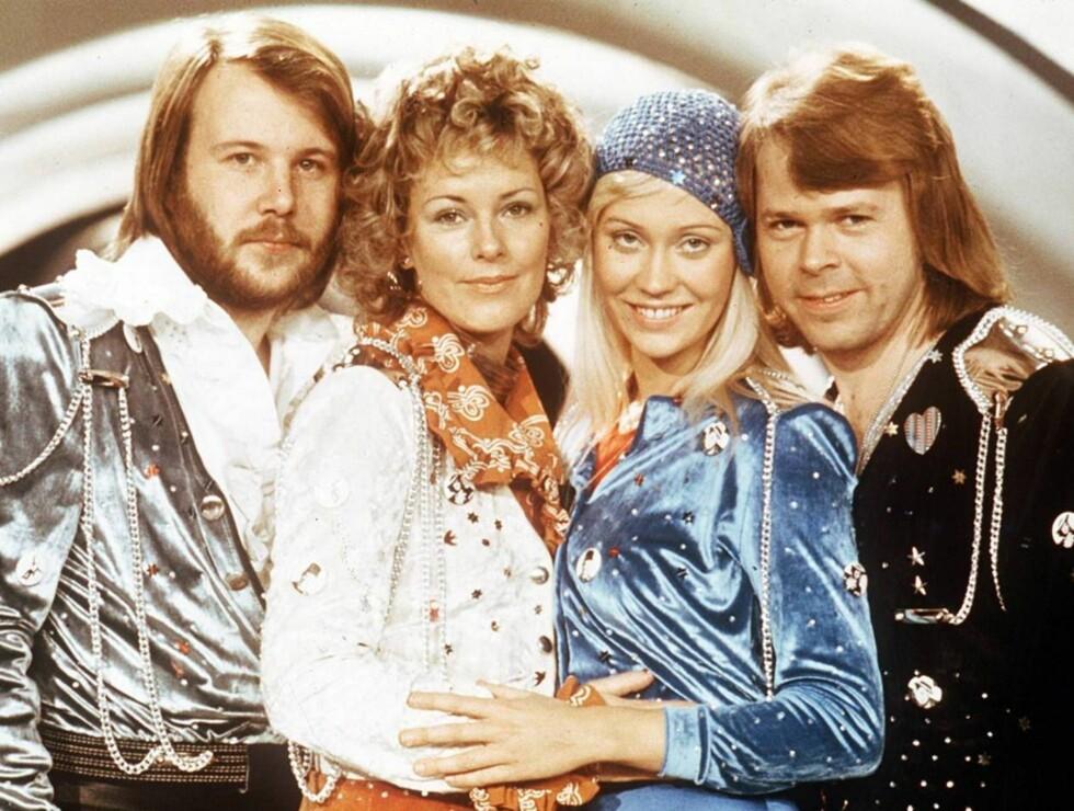 SUKSESSGRUPPE: ABBA solgte mer enn 370 millioner album på verdensbasis. Foto: AP/Scanpix
