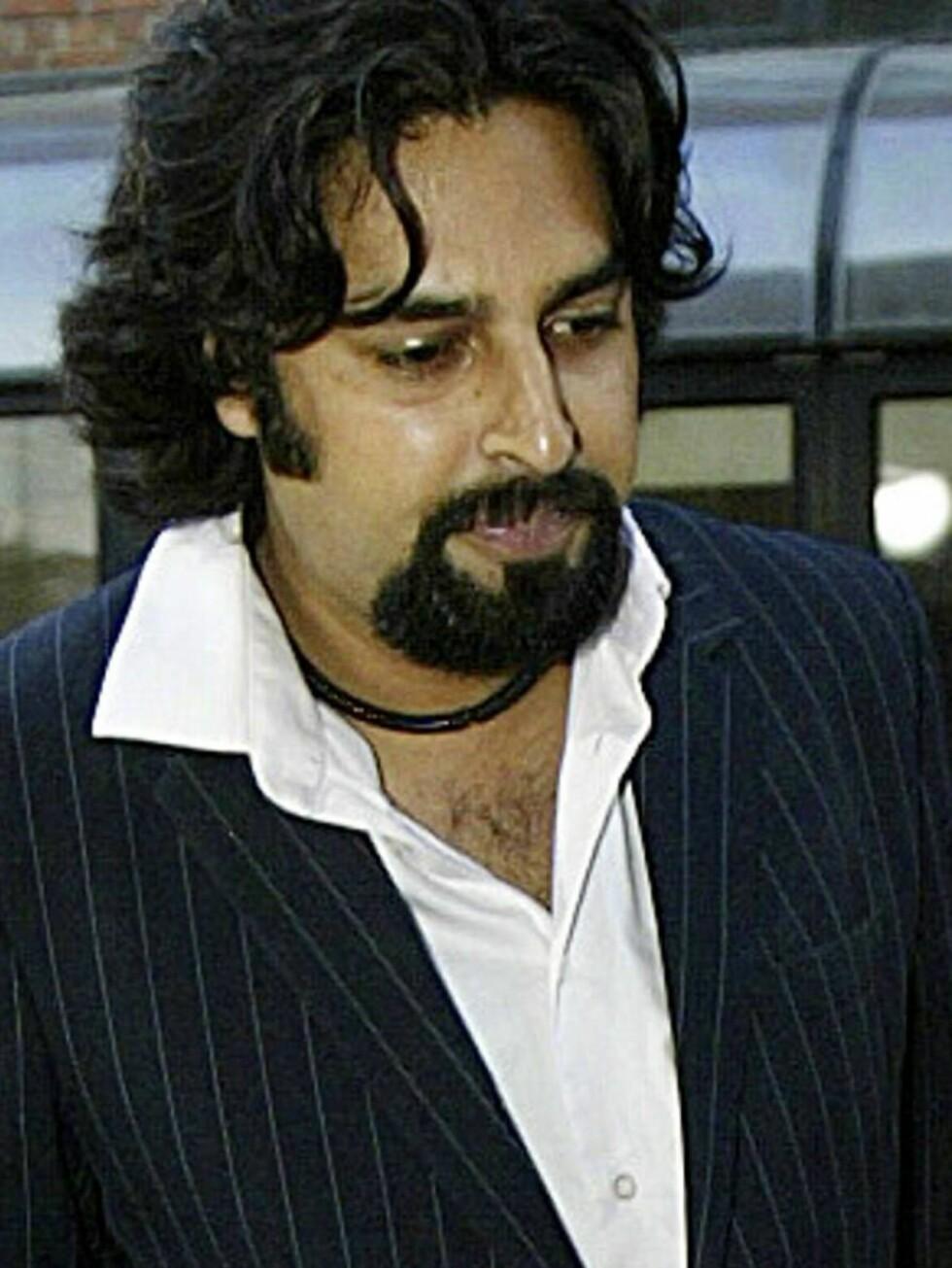 SIKTET: Zahid har innrømmet å ha kastet ølglasset. Tidligere er han idømt en bot for en bombespøk mot Den norske opera. Foto: SCANPIX