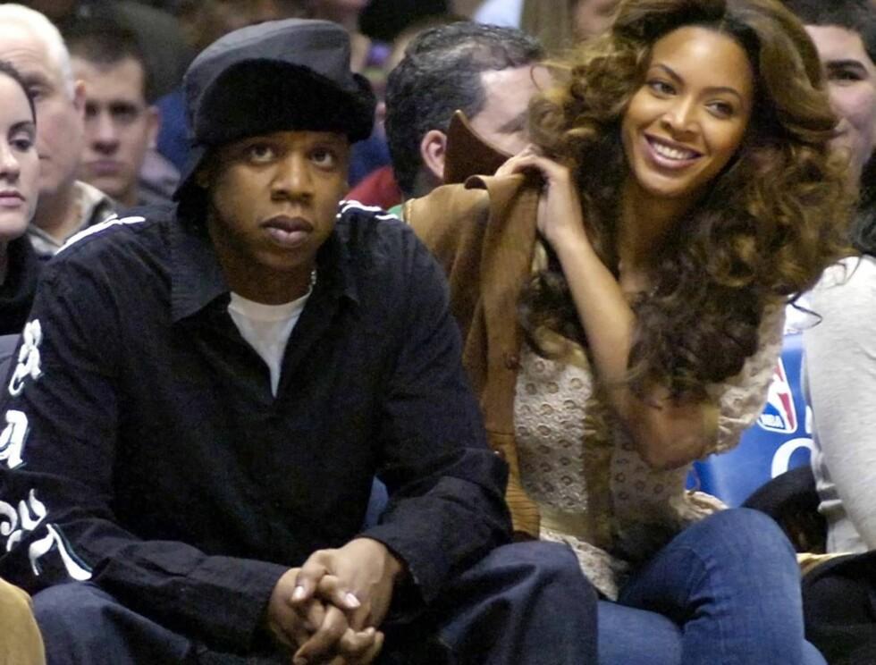 FLYTTER INN HOS DAMA?: Å bli fast samboer med Beyoncè Knowles kan bli løsningen for Jay-Z. Foto: Scanpix