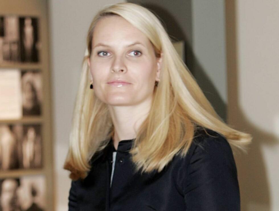GOD VENNINNE: Mette-Marit har god kontakt med sin søster, og inviterte henne til prins Sverre Magnus dåp. Foto: SCANPIX