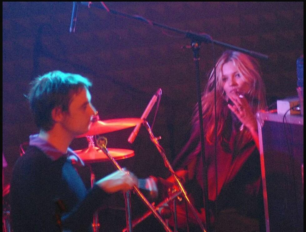 SØT MUSIKK: Pete Doherty og Kate Moss har funnet tonen i mange år, men har de bestemt for å la kirkeklokkene ringe? Foto: Stella Pictures