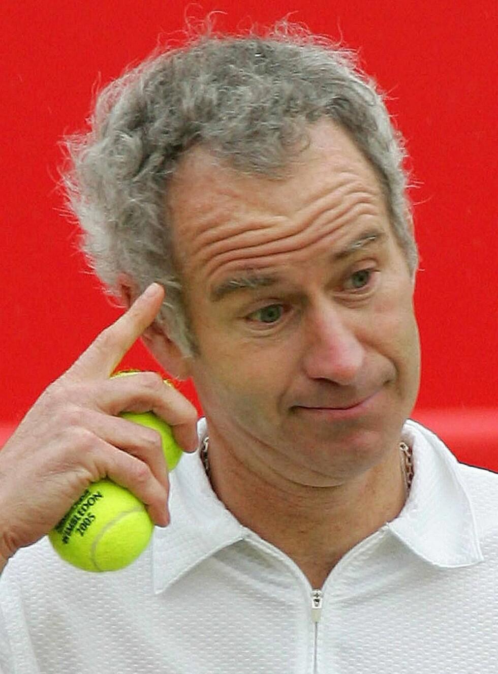 STOR I KJEFTEN: Tennisproffen er nesten mer kjent for å klage på dommeren enn sine prestasjoner med racketen. Foto: AP