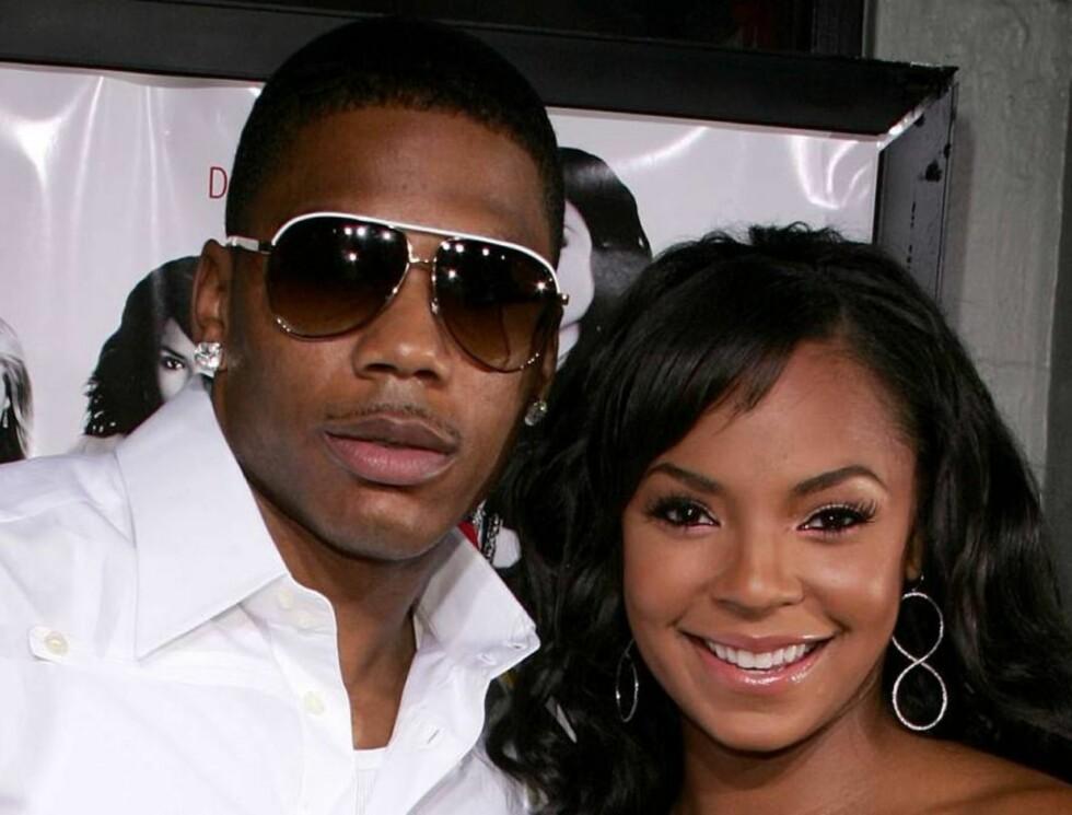 FORLOVET? : Rapperen Nelly og R&B-artisten Ashanti.. Foto: Stella Pictures