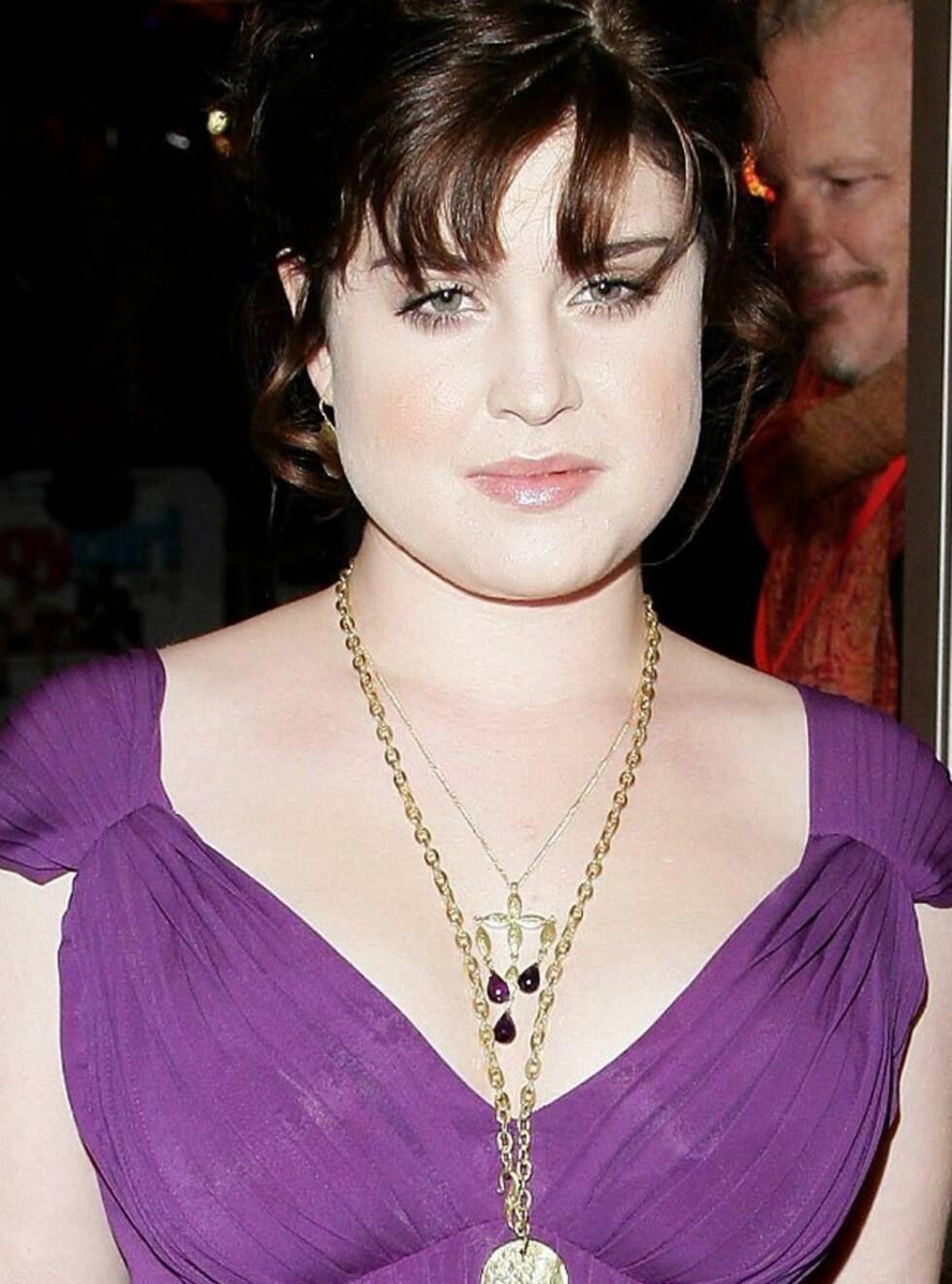 NY: En tydelig tynnere Kelly Osbourne... Foto: All Over Press