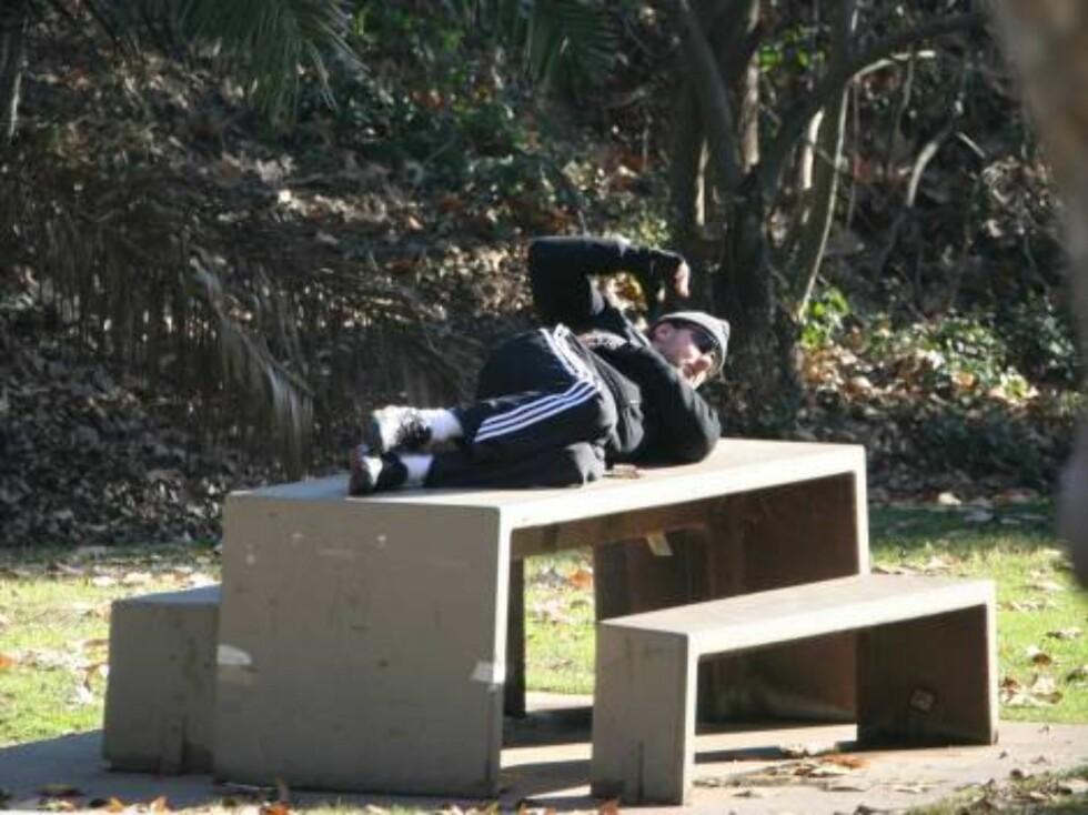 TRIM: Russel Crowe holder seg i form. Foto: STELLA PICTURES