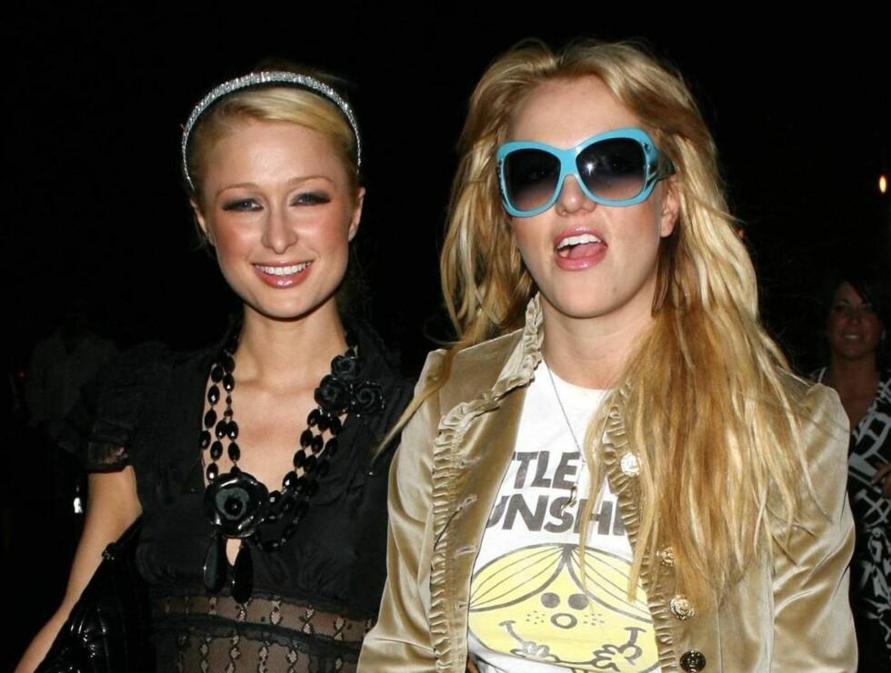 FEST: Hilton og Spears har herjet Hollywood rundt de siste månedene. Var det orgasmespøken som fikk Britney til å kutte ut hotellarvingen? Foto: All Over Press