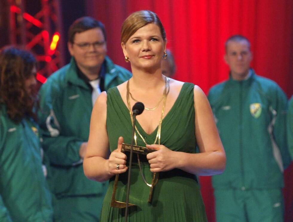 VANT: - Anne Sandvik Lindmo er flink til å kle seg etter fasong, forteller Se og Hørs moteeksperter. Foto: SCANPIX