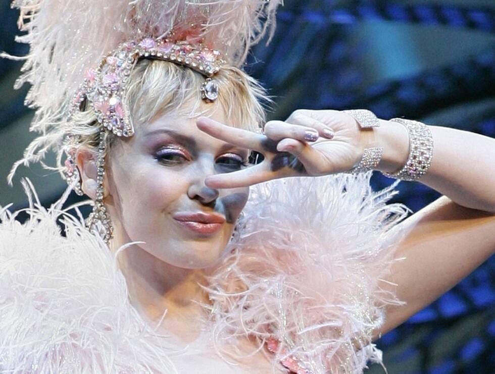 SEXY: - Jeg er en svært seksuell person, avslører frekke Kylie Minogue. Foto: AP/Scanpix