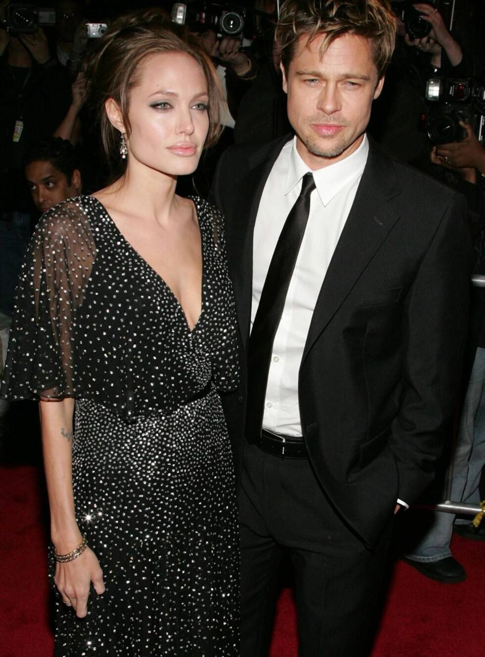 SPIONPAR: Angelina og Brad vurderer comeback i rollene som Mr og Mrs Smith. Foto: All Over Press