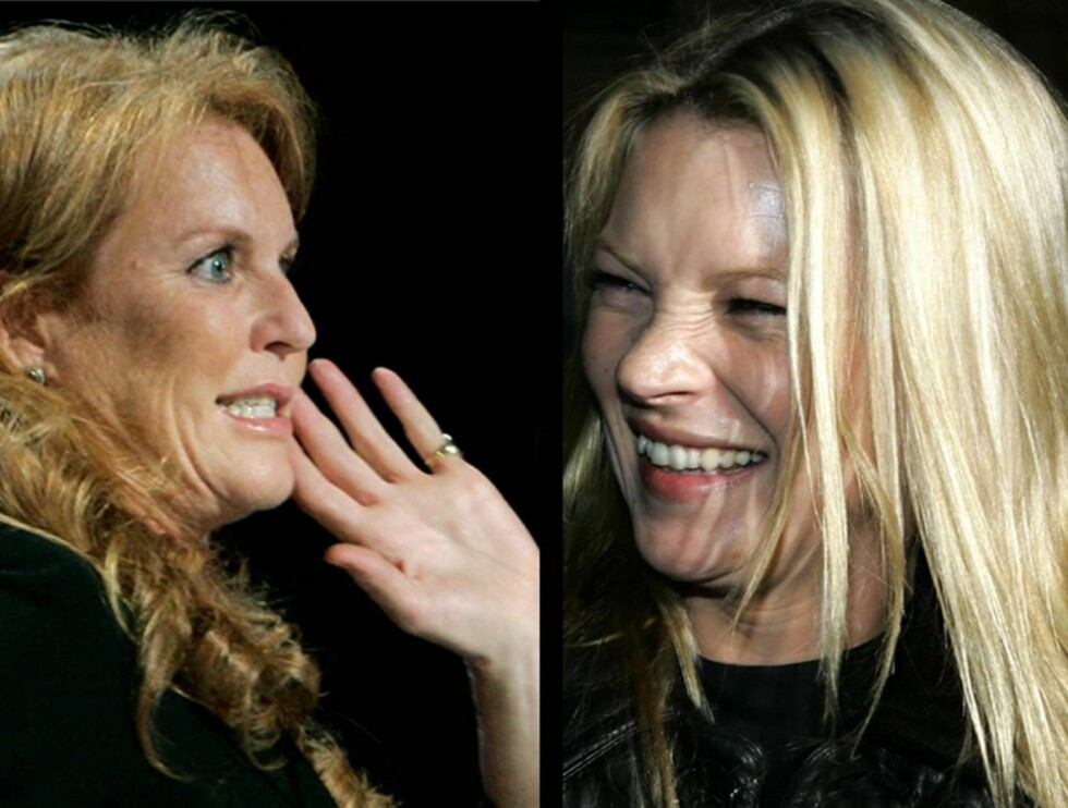 VENNER: Etter at Fergie og Kate møttes på en fest for to år siden, har de ringt hverandre ustanselig.  Foto: AP/Scanpix