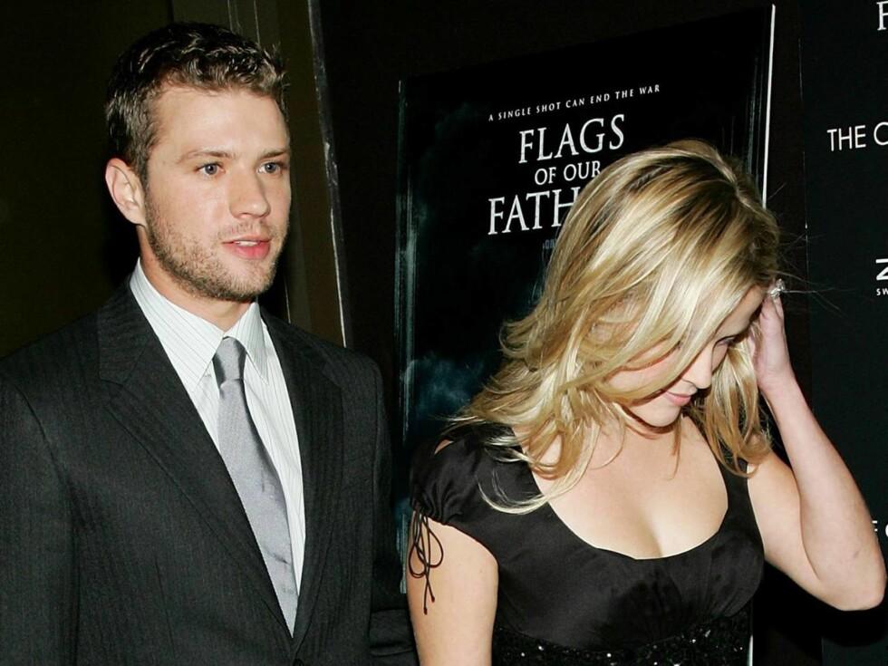 UT MED MILLIONER: Reese må beatle flere millioner kroner til eks-mannen etter skilsmissen.. Foto: All Over Press