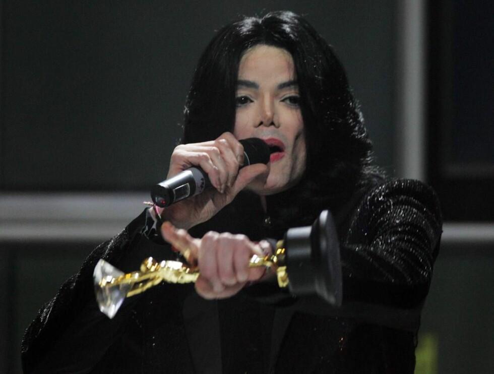 UT PÅ TUR: Michael Jackson legger ut på verdensturné for første gang på 10 år. Foto: All Over Press