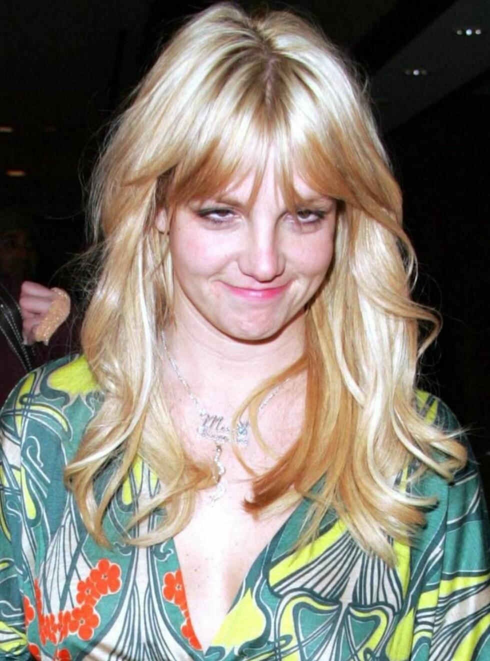 SCHKÅL!: Nyskilte Britney Spears skapte frykt og avsky i Las Vegas. Foto: All Over Press