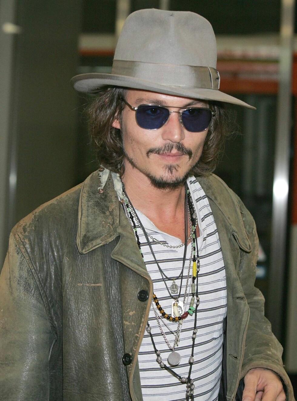 ETTERTRAKTET: Johnny Depp er førstevalget til rollen som Freddie Mercury. Foto: All Over Press