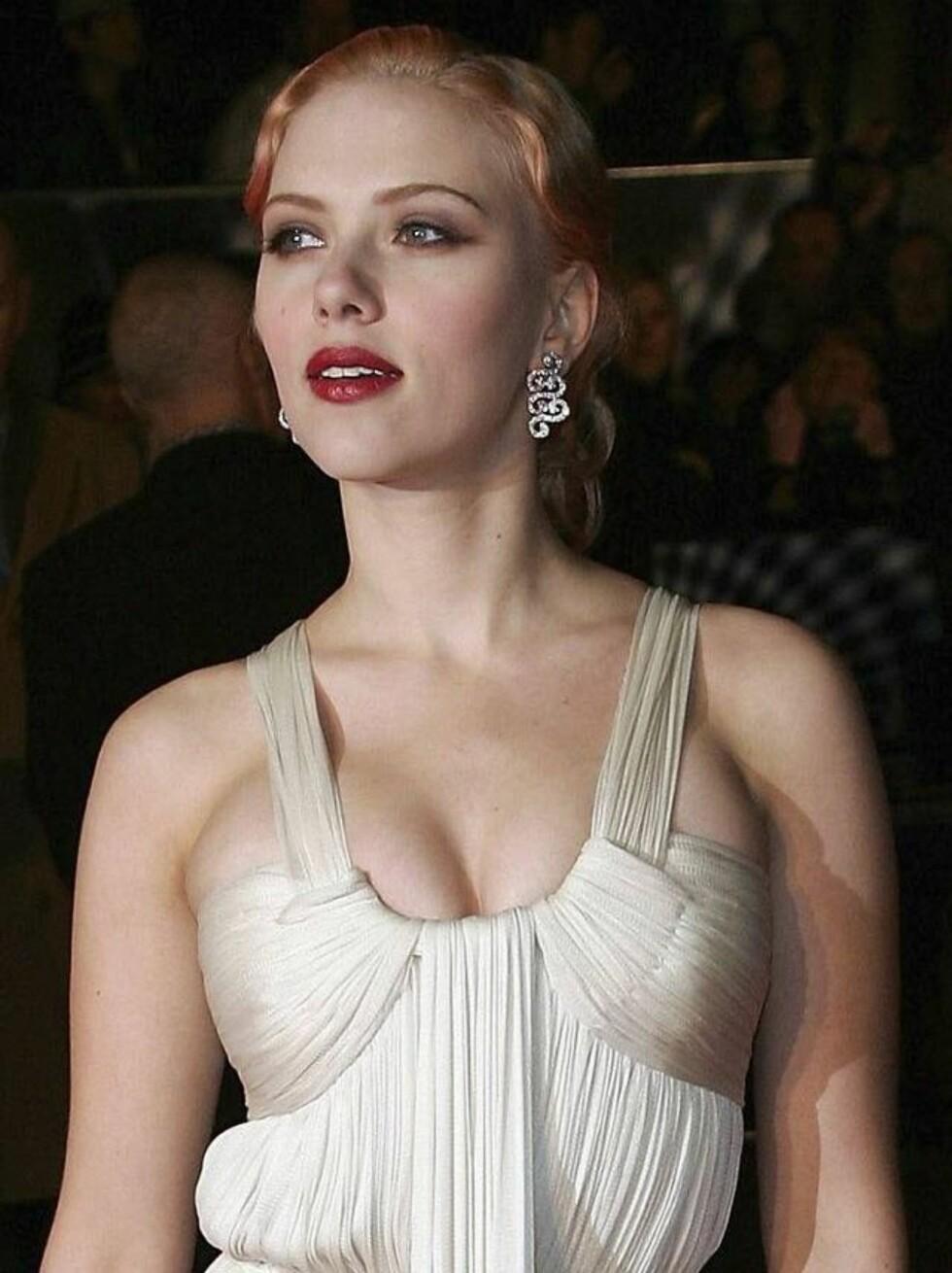 VAKKER: Scarlett Johansson er mange menns drøm. Har også Justin Timberlake falt pladask? Foto: All Over Press