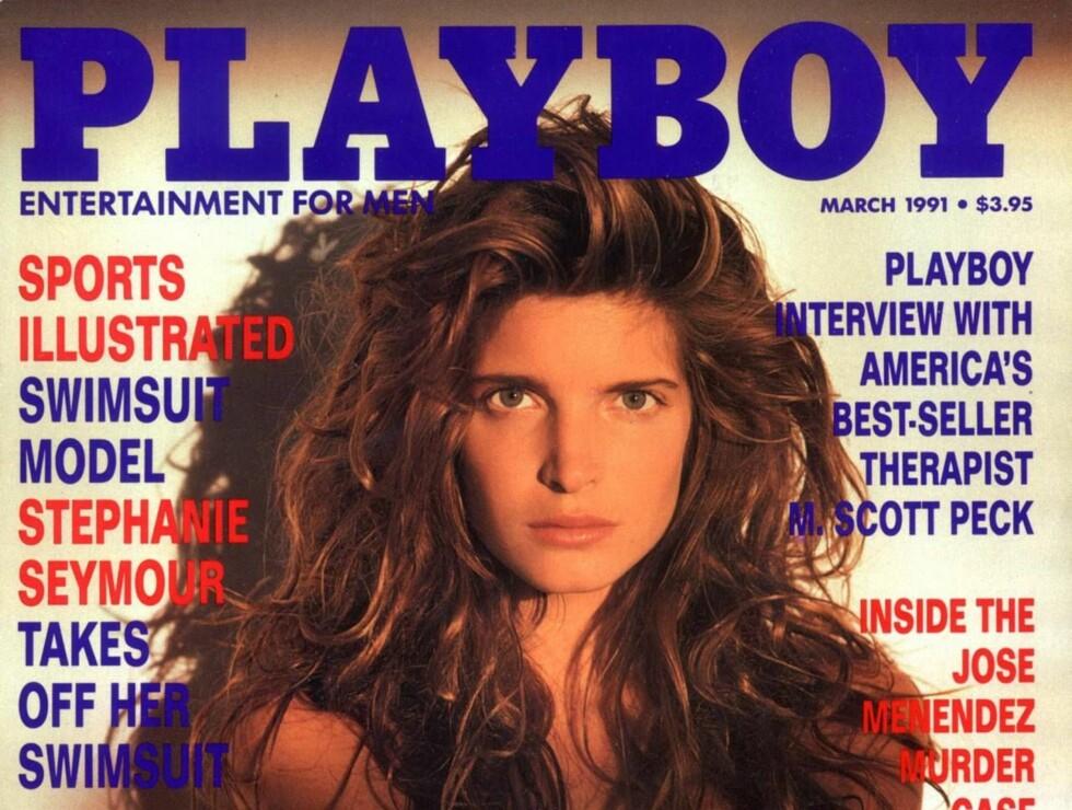 SEXY: Da Stephanie i 1991 stilte naken på forsiden av mannebladet Playboy, ble det stor ståhei. Foto: All Over Press