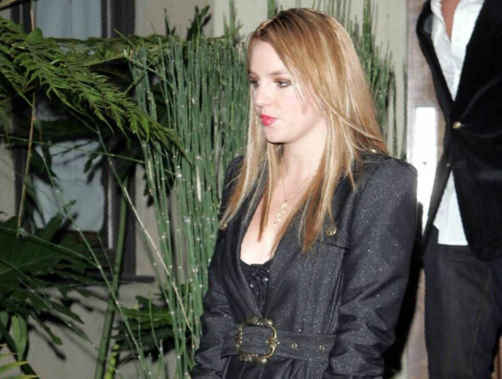 SLITEN: Britney Spears har festet hardt siden skilsmissen med Kevin Federline. Kanskje litt for hardt? Foto: All Over Press