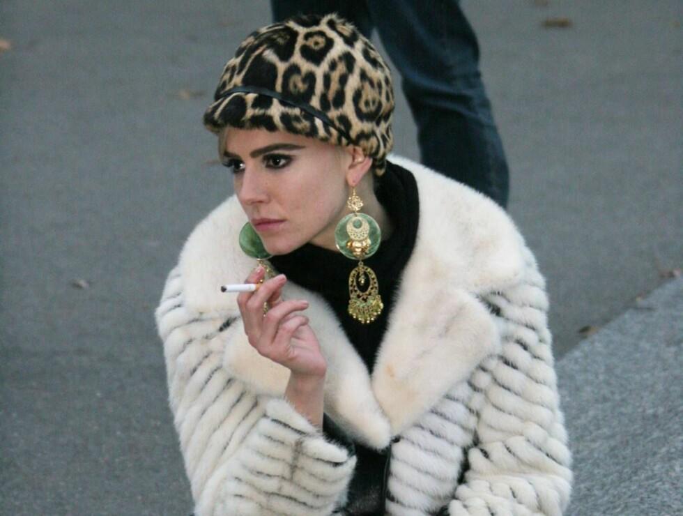 """TYNN: Sienna Miller som Edie Sedgwick under innspillingen av """"Factory Girl"""". Foto: Stella Pictures"""