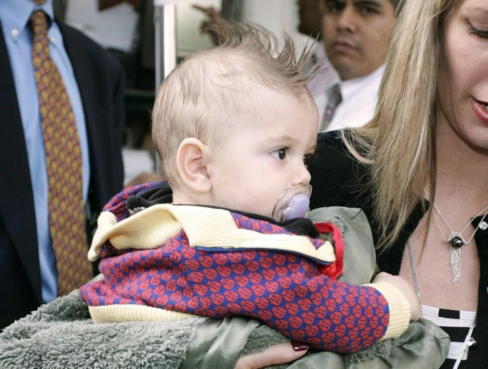 TØFF: Kingston er en av Hollywoods råeste babyer. Kanskje ikke så rart når mammaen din er Gwen Stefani? Foto: Stella Pictures