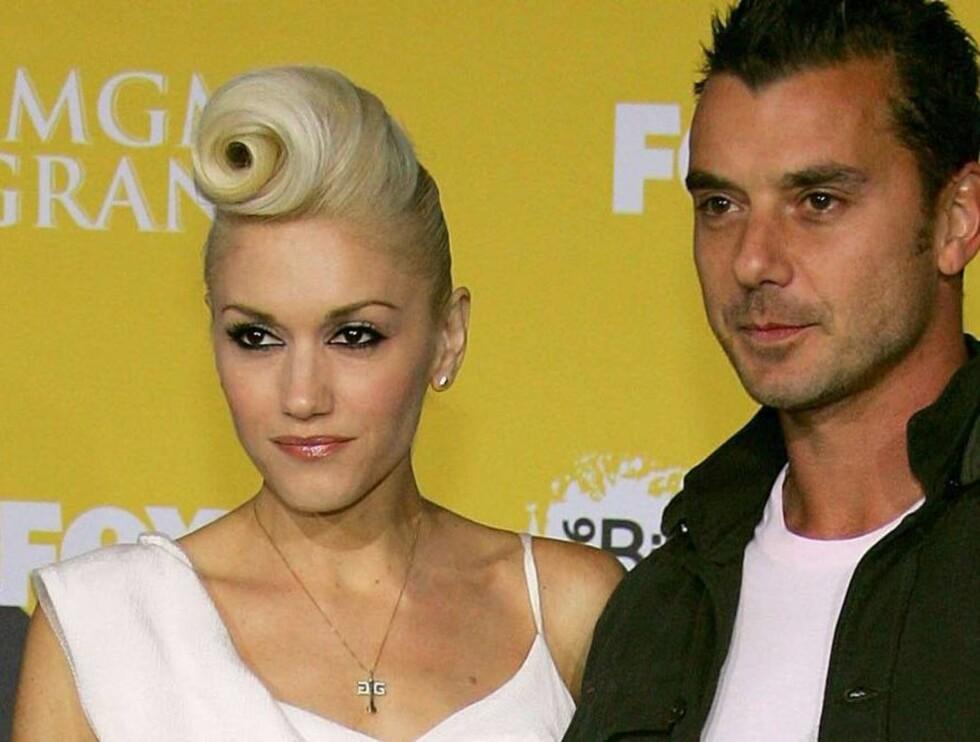 PENT PAR: Gwen Stefani og Gavin Rossdale Foto: All Over Press