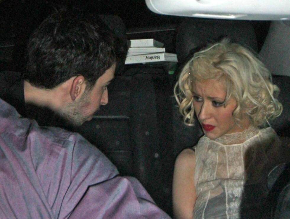 TRIST: Ifølge Life & Style, er det trøbbel i paradis. - Christina Aguilera er svært ulykkelig, melder bladet ... Foto: Stella Pictures