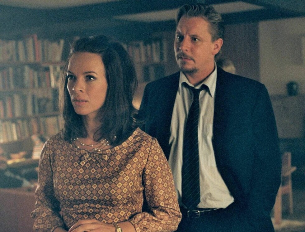 NYE FORHOLD: Søs og Palle møtes takket være datteren, men begge har nye forhold. Foto: NRK