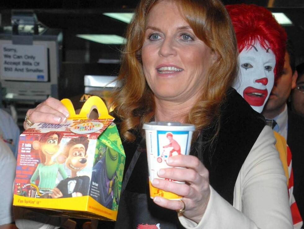 MED: Sarah blir snart med i amerikanernes tv-program. Hun har allerede adoptert titternes matvaner. Foto: Stella Pictures