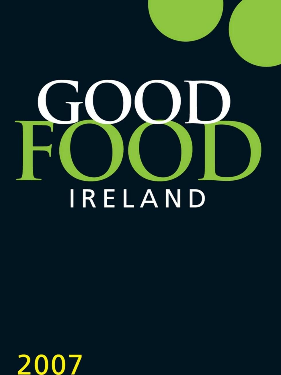 """BIBEL"": Slik ser gourmetbrosjyren til irene ut. Foto: Good Food Ireland"